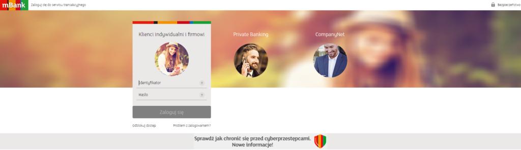 Jak zalogować się do konta w mBanku? Krok po Kroku